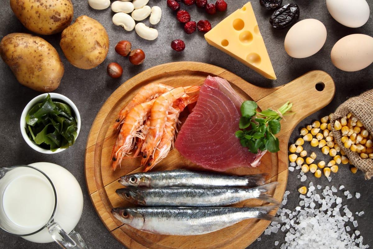3 alimentos con yodo beneficiosos en el embarazo